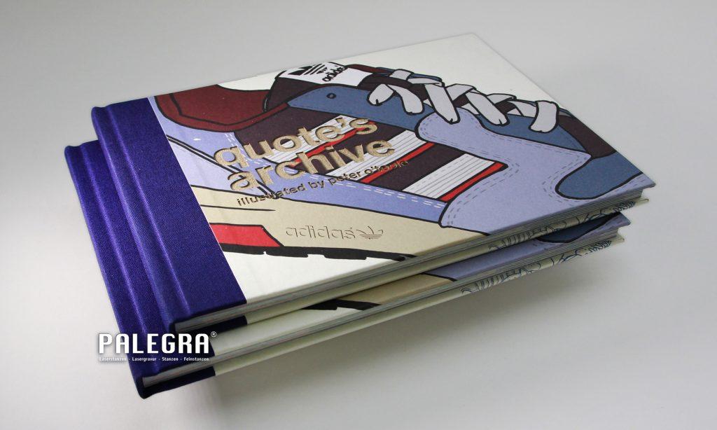 PALEGRA Lasergravur adidas Hardcover Buch