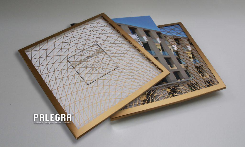 PALEGRA Laserschnitt Pariser Platz Berlin Schuber Buchschube