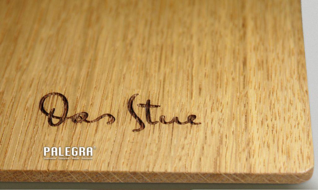 Laserschnitt Lasergravur Holzgravur